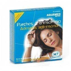 Aquamed active parche antiinsomnio 20 unidades