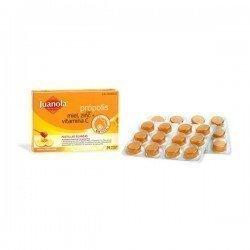 Juanola pastillas miel vitamina-C 12 unidades