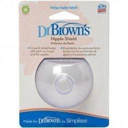 Pezonera silicona Dr Browns's 1 unidad