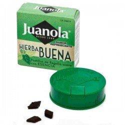 Juanola pastillas Display hierbabuena 27 unidades