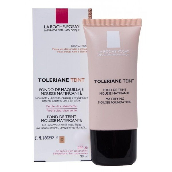 Toleriane Teint SPF- 20 fondo de maquillaje Beige claro 02