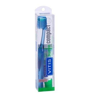 Vitis compact suave cepillo+Crema Vitis aloe 15ml