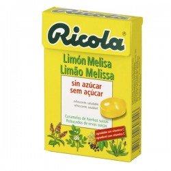 Ricola perlas sin azúcar limón 25gr