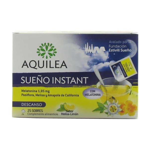 Aquilea sueño instant 1.95 mg 25 sobres