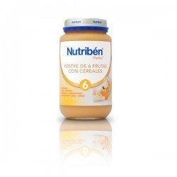 Potito Nutriben Postre 6 Frutas y Cereales 400 gr