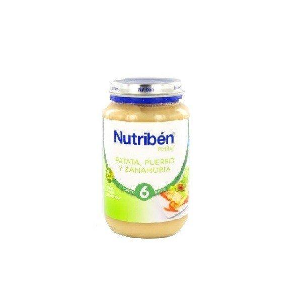 Potito Nutriben Patata Puerro y Zanahoria 250 GR