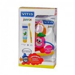 Vitis pack junior cepillo+gel 75ml+muñeco