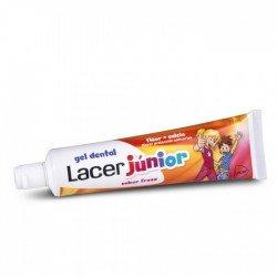 Lacer gel dental junior fresa 75ml