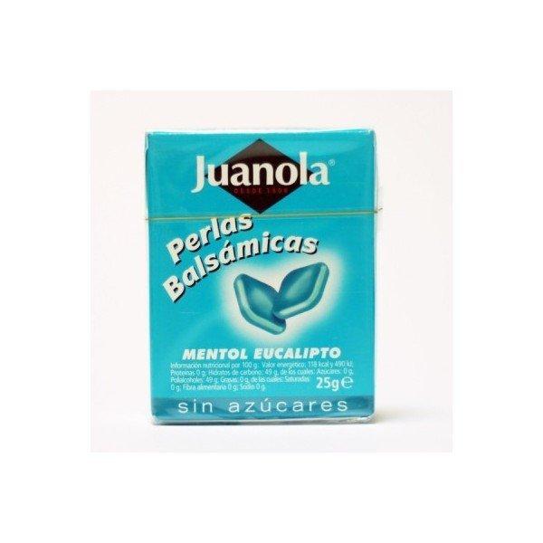 Juanola perlas mentol eucalipto