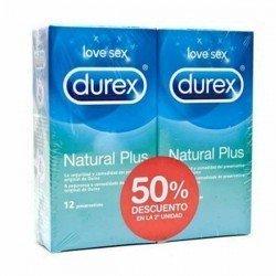 Durex duplo Natur Plus 12 unidades