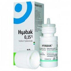 Hyabak solución 10 ml