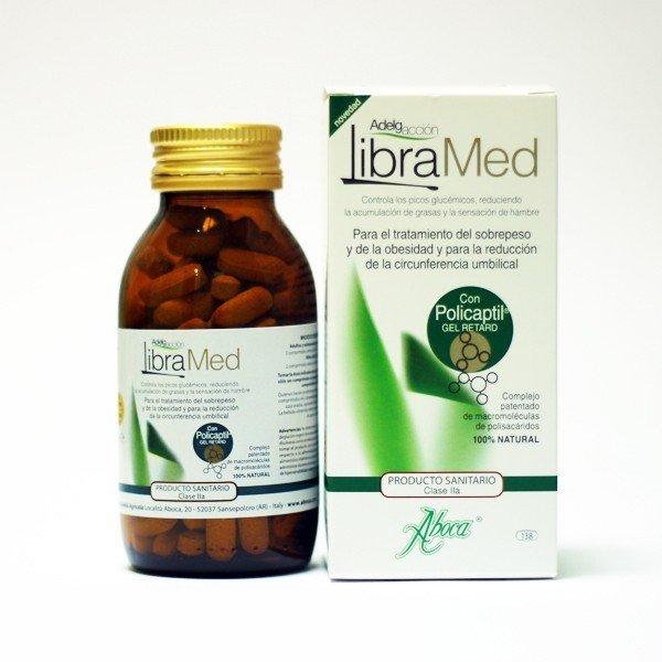 Adelgacción Libramed 100 gr 138 cápsulas de 725 mg