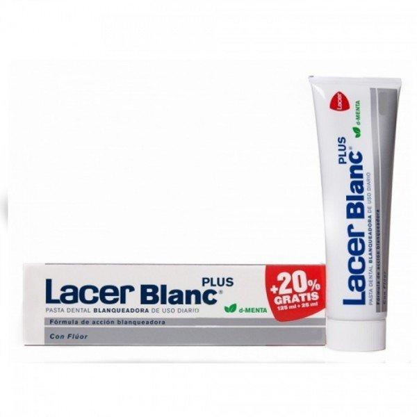 Lacer Blanc menta 150 ml (125ml+20%)