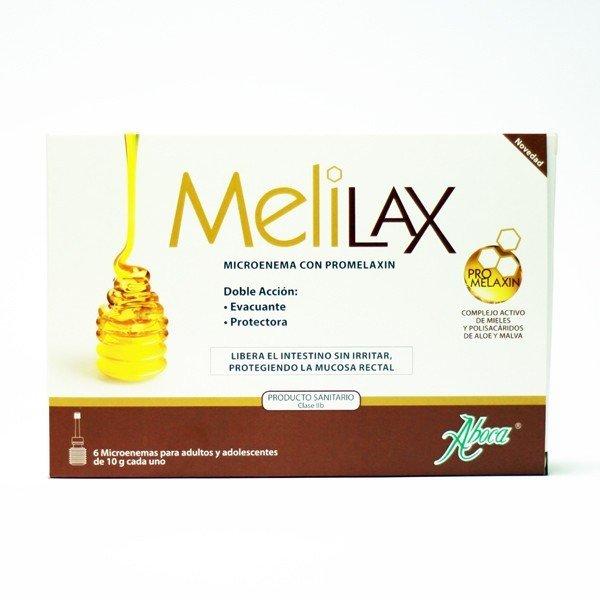 Melilax microenemas 10gr 6 unidades