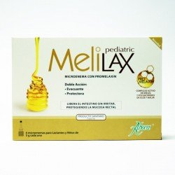 Melilax Pediatric microenemas 10gr 6 unidades