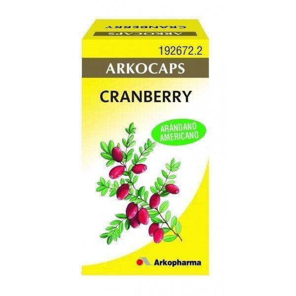 Arkocapsulas cranberry 50 cápsulas (arándano rojo)