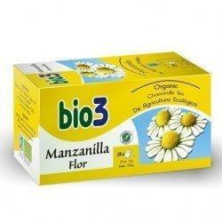 Bio3 manzanilla flor ecológica 25 bolsas