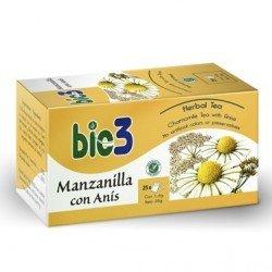 Bie3 manzanilla anís 25 bolsas