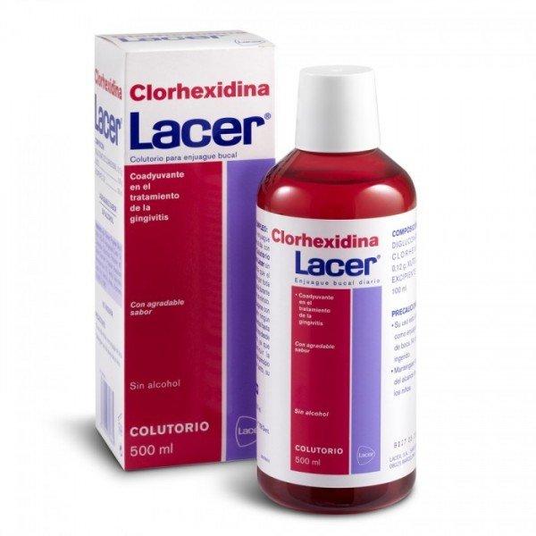 Colutorio clorhexidina Lacer 500 ml