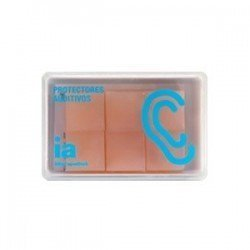 Interapothek tapón oído silicona moldea 6 unidades