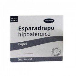 Esparadrapo hipoalergénico papel Hartmann 5mx2,5