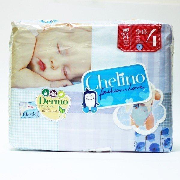 Pañal Chelino Love T4 34 unidades (9-15 kg)