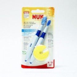 Set cepillo dental Nuk Entrena 2 unidades
