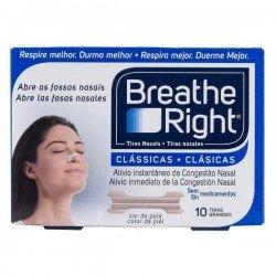 Tiras nasal Breath Right grande 10 unidades
