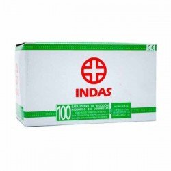 Compresas gasa Indas sobres caja de 100