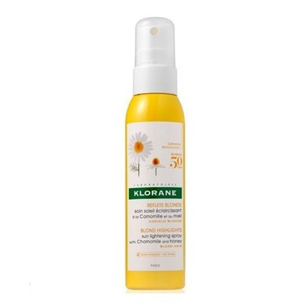Klorane Cuidado Solar Aclarante Camomila Miel Spray 125 ML