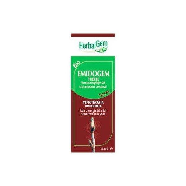 Emidogem Fuerte Spray Migraña y Dolor 10ML Herbalgem Pranarom