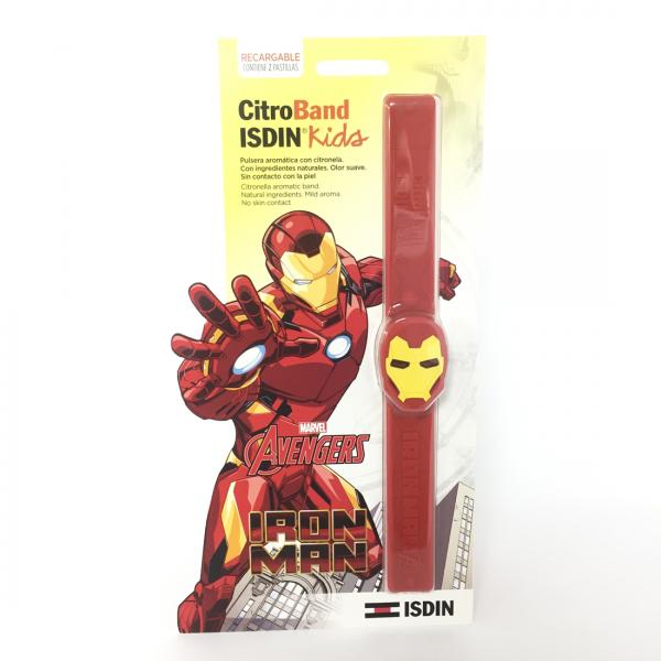 Citroband Isdin Kids Pulsera Aromatica Iron Man 1 Pulsera + 2