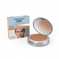 Fotoprotector Isdin Compact 50+ Bronce 10gr