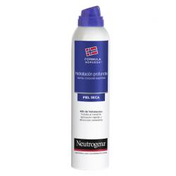 Neutrogena hidratación profunda spray corporal Express piel
