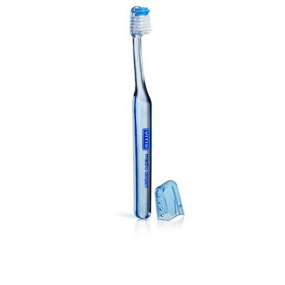 Vitis cepillo compact medio+crema Vitis blanqueadora