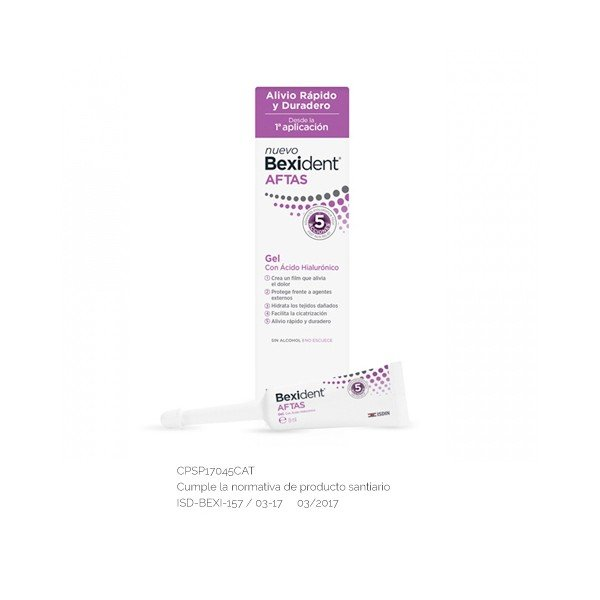 Bexident aftas gel bucal protector 8 ml