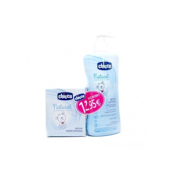 Natural Sensation Body Loction 500ML+ Agua perfumada 100ML