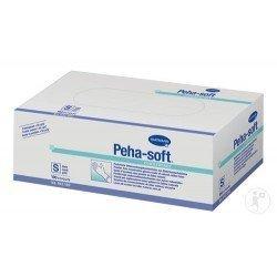 Guantes Peha Soft látex sin polvo talla-M 100 unidades