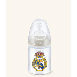 Biberón silicona Nuk Real Madrid 0-6 150 ml