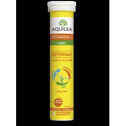 Aquilea vitamina C+zinc 14 comprimidos efervescentes
