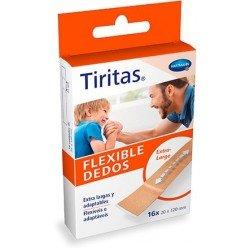 Tiritas flexible dedos 16 unidades
