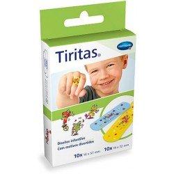Tiritas infantiles surtido 2 tamaños 20 unidades