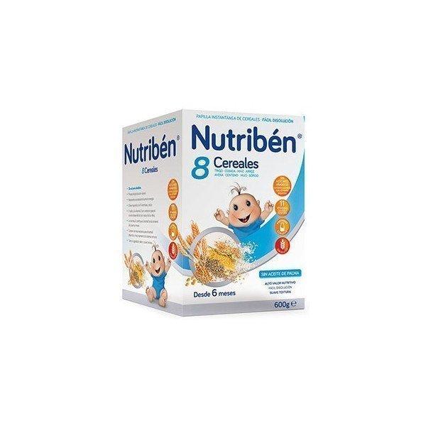 Nutriben 8 cereales +6 meses