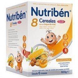 Nutriben 8 Cereales Miel Frutos Secos 600