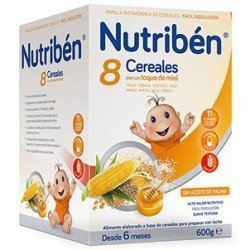 Nutriben 8 Cereales Miel 600 GR