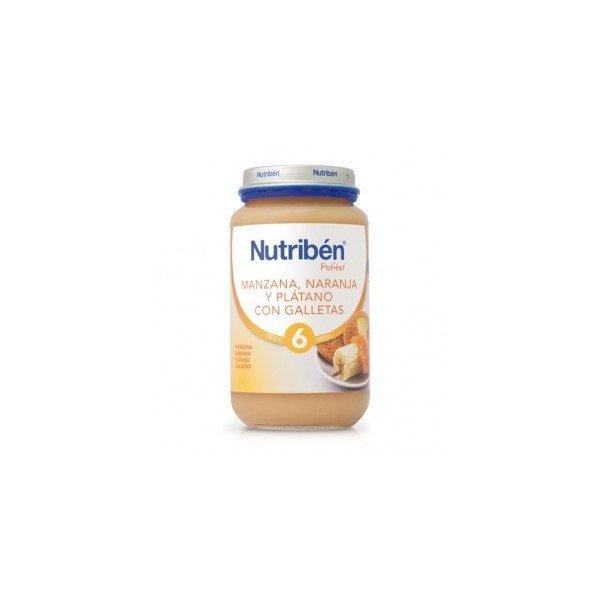 Potito Nutriben Manzana Naranja Platano Galleta 250 G