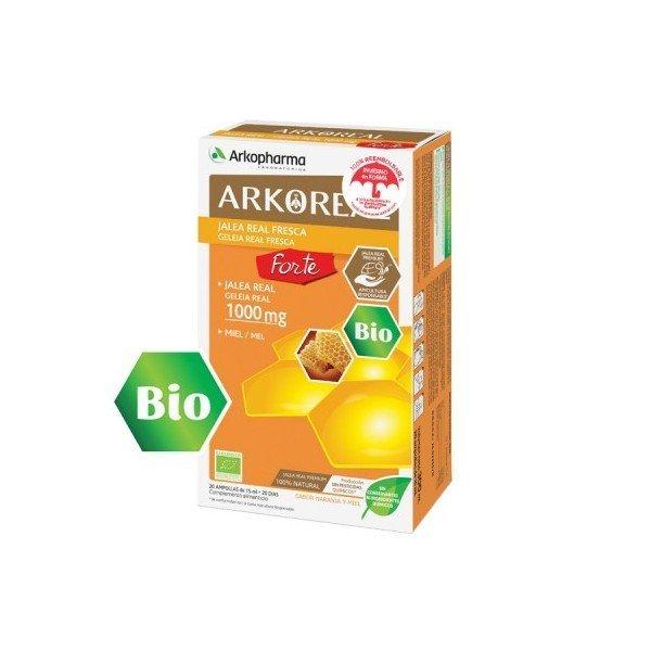 Arkoreal jalea real forte 1000 mg 20 unidades
