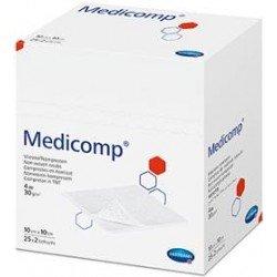 Medicomp gasa suave 10x10 20 unidades