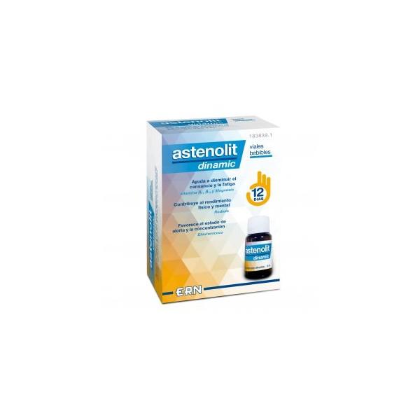 Astenolit Dinamic viales bebibles 12 unidades