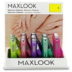 Cortauñas con depósito Maxlook